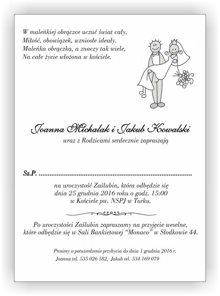 Bardzo Zaproszenie Na Rocznicę ślubu Tekst Jxl18 Usafrica